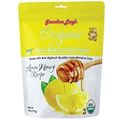 Grandma Lucy's Organic Lemon Honey Recipe Oven Baked Dog Treats, 14-oz bag
