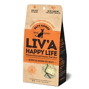 The Granville Island Pet Treatery Liv'a Happy Life Liver Flavored Dog Treats, (Small Biscuits) 2-lb
