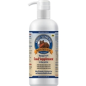 Grizzly Salmon Plus Salmon, Pollock, and Whitefish Oil Dog Supplement, 16 Ounces