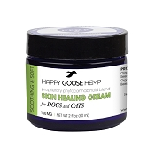 Happy Goose Hemp Skin Healing Cream for Dogs & Cats, 2-oz