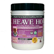 Heave Ho for Allergies, COPD & Coughing in Horses, Molasses Flavor 30 Servings