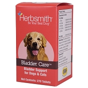 Herbsmith Herbal Bladder Care Tablets Dog & Cat Supplement, 270-Count