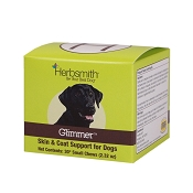 Herbsmith Glimmer Skin & Coat Support Soft Chews Dog Supplement, 30 Small Chews
