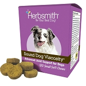 Herbsmith Sound Dog Viscosity Joint Support Soft Chews Dog Supplement, Small 120 Count