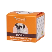 Herbsmith Spector Eye Support Dog Supplement Small Chews, 30 Count