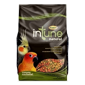Higgins InTune Natural Conure & Cockatiel Bird Food, 2 lb Bag