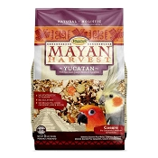 Higgins Mayan Harvest Yucatan for Small Hookbills Bird Food, 3-lb Bag