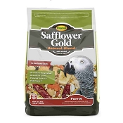 Higgins Safflower Gold Parrot Bird Food, 3 lb