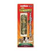 Higgins Sunburst Garden Veggies Gourmet Treat Sticks for Rabbits, Guinea Pigs & Chinchillas