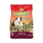 Higgins Sunburst Gourmet Guinea Pig Food, 3-lb Bag