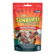 Higgins Sunburst Gourmet True Fruit Natural Treats for Conures Parrots and Macaws