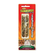 Higgins Sunburst Nutty Pumpkin Gourmet Treat Sticks for Hamsters, Gerbils, Mice & Other Rodents
