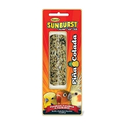 Higgins Sunburst Pina Colada Gourmet Treat Stick for Parakeet, Lovebird and Cockatiel