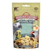 Higgins Worldly Cuisines Creamy Zen Prepare-At-Home Bird Food Snack, 2-oz Bag