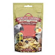 Higgins Worldly Cuisines Moroccan Cafe Prepare-At-Home Bird Food Snack, 13-oz Bag