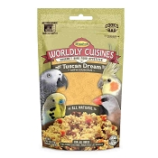 Higgins Worldly Cuisines Tuscan Dream Prepare-At-Home Bird Food, 2-oz Bag