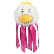 HuggleHounds Spring Duck Seat Belt Buddie Dog Toy