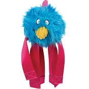 HuggleHounds Seat Belt Rooster Buddie Dog Toy