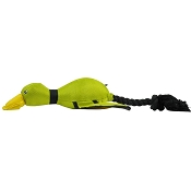 Hyper Pet Flying Green Duck Dog Toy
