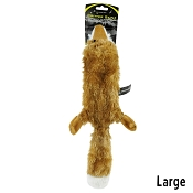 Hyper Pet Fox Critter Skinz Dog Toy, Large