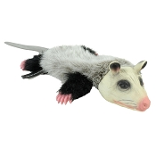 Hyper Pet Opossum Real Skinz Dog Toy