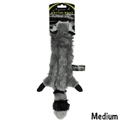 Hyper Pet Raccoon Critter Skinz Dog Toy, Medium