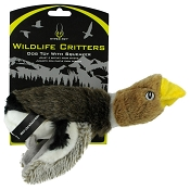 Hyper Pet Wildlife Critters Mallard Duck Squeaker Dog Toy