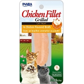 Inaba Ciao Grain-Free Grilled Chicken Fillet in Chicken Flavored Broth Cat Treat