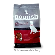 Isle Of Dogs Nourish Air Dried Beef Recipe Dog Food, 5-lb