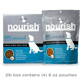 Isle Of Dogs Nourish Air Dried Chicken Recipe Dog Food, 2-lb