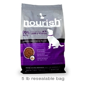 Isle Of Dogs Nourish Air Dried Lamb & Venison Recipe Dog Food, 5-lb