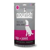 Isle Of Dogs Nourish Hip & Joint Dental Chews for Dogs, Small
