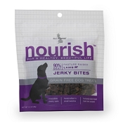 Isle of Dogs Nourish Lamb Jerky Bites Dog Treats, 3.5-oz Bag