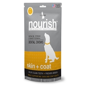 Isle Of Dogs Nourish Skin Coat Dental Chews for Dogs, Large