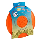 Jolly Pets Jolly Flyer Dog Toy Orange, 9.5