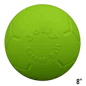 Jolly Pets Jolly Soccer Ball Dog Toy Green, 8