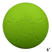 Jolly Pets Jolly Soccer Ball Dog Toy Green, 6