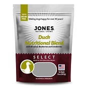 Jones Duck Select Nutritional Blend Dog Treats, 3.5-oz Bag