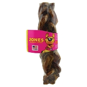 Jones Natural Chews Braided Bully Stick for Dogs, Large 8