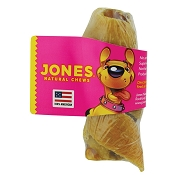 Jones Natural Chews Bully Bacon Twist (Bully Stick With Pork Skin) Dog Treat
