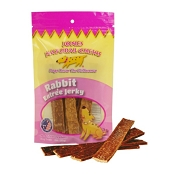 Jones Natural Chews Rabbit Jerky for Dogs
