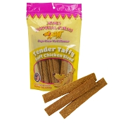 Jones Natural Chews Tender Taffy Chicken Jerky Dog Treats, 8-oz Bag