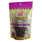 Jones Natural Chews Big Paw Beef Jerky Dog Treats