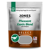 Jones Select Pheasant Exotic Blend Dog Treats, 3-oz Bag