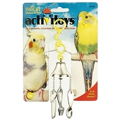 JW Pet Activitoy Fork, Knife & Spoon Bird Toy
