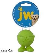 JW Pet Hipster Cuz Rubber Dog Toy, Small