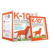 K-10+ Omega 3 Formula Dog Supplement