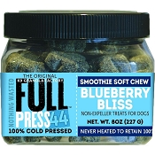 K9 Granola Factory FULL Press 44 Cold Pressed Blueberry Bliss Dog Treats, 8-oz