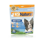 K9 Natural Beef Recipe Raw Freeze-Dried Dog Food, 1.1 lb