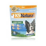 K9 Natural Lamb Feast Freeze-Dried Dog Food, 1.1 lb